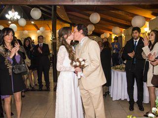 El matrimonio de Mariela  y Iván