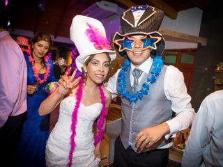 El matrimonio de Evelyn y Alexis