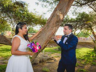 El matrimonio de Elizabeth y Rodrigo 1
