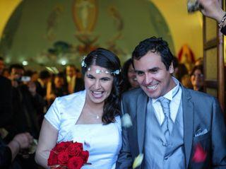 El matrimonio de Elsa y Gonzalo