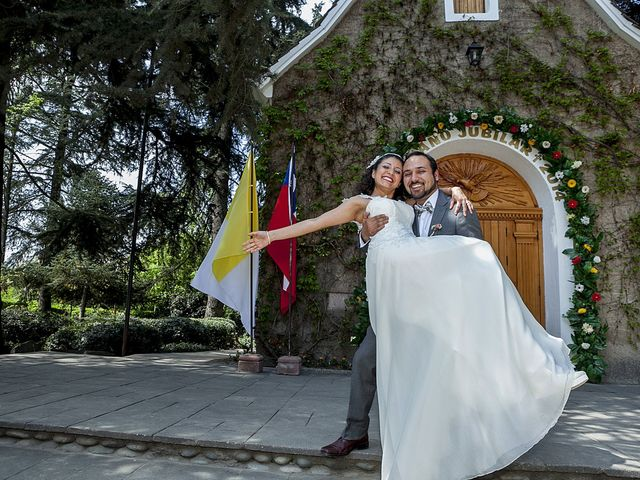 El matrimonio de Daniela y Esteban