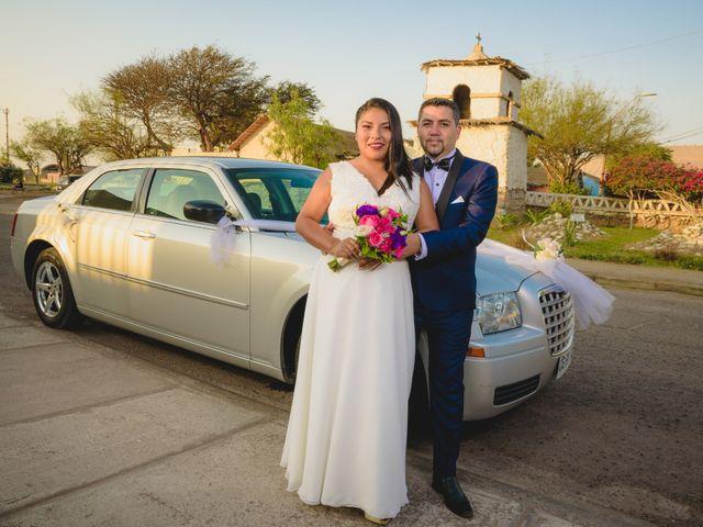 El matrimonio de Elizabeth y Rodrigo