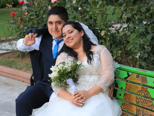 El matrimonio de Andrea y Marcelo