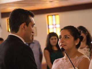 El matrimonio de Valeria y Óscar 1