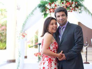 El matrimonio de Elizabeth y Ismael 3