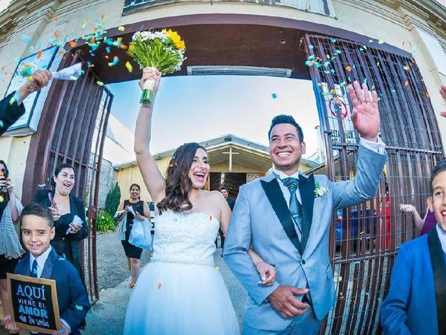El matrimonio de Elizabeth y Miguel