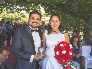 El matrimonio de Dennisse y Cristían