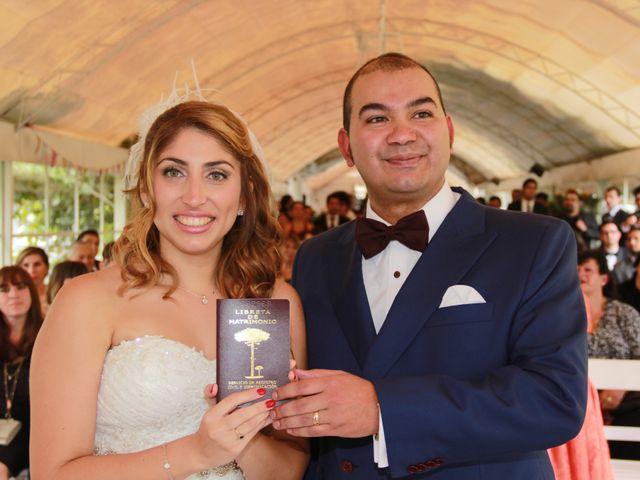 El matrimonio de Nicolás y Camila en Lampa, Chacabuco 5