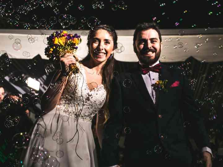 El matrimonio de Pia y Matias