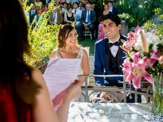 El matrimonio de Valentina y Nicolás