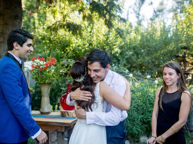 El matrimonio de Nicolás y Valentina en Talagante, Talagante 60