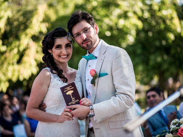 El matrimonio de Paulina y Pablo