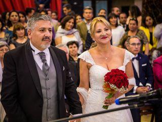 El matrimonio de Angélica y Víctor