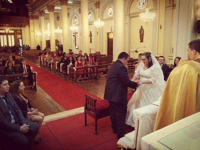 El matrimonio de Marco y Pamela