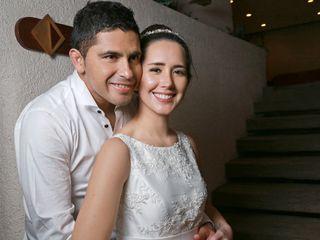 El matrimonio de Andrea y Miguel