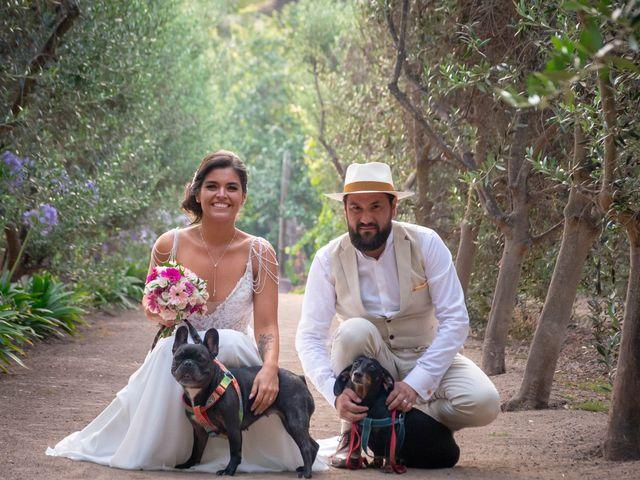 El matrimonio de María Paz y Fernando