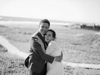 El matrimonio de Widays y Christian