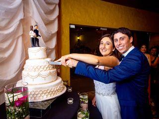 El matrimonio de Paulina  y Mario
