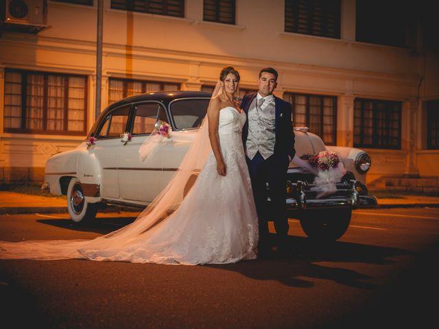 El matrimonio de Cintia y Luis