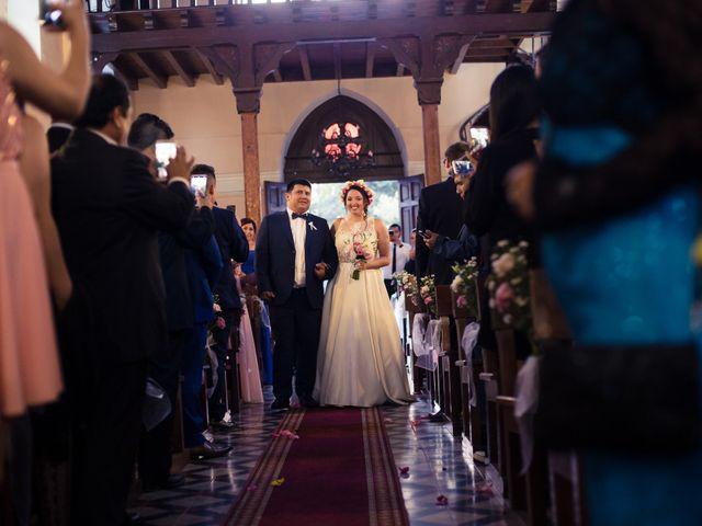 El matrimonio de Juan Carlos y Bernarda en Pirque, Cordillera 15