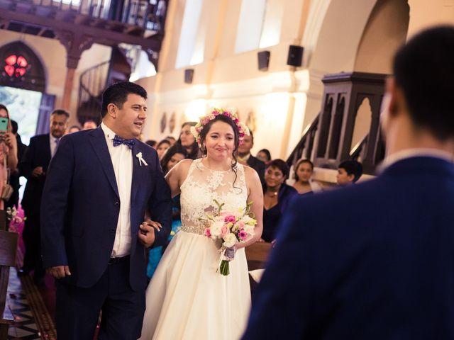 El matrimonio de Juan Carlos y Bernarda en Pirque, Cordillera 16
