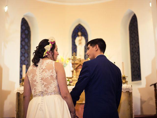 El matrimonio de Juan Carlos y Bernarda en Pirque, Cordillera 29