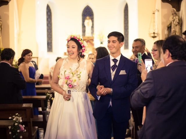 El matrimonio de Juan Carlos y Bernarda en Pirque, Cordillera 31