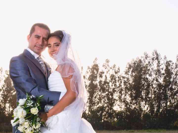 El matrimonio de Leslye y Rodrigo