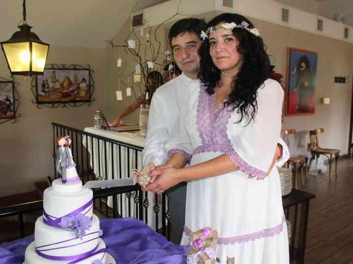 El matrimonio de Pamela y Rommel