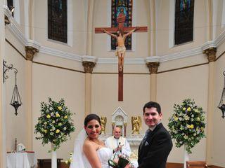 El matrimonio de Patricia  y Mario  1