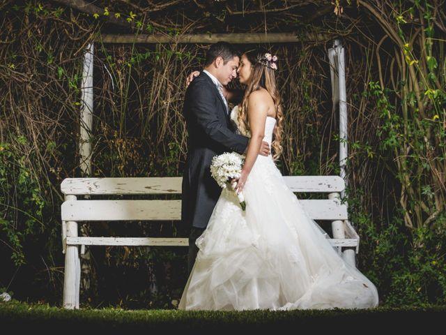 El matrimonio de Vanessa y David