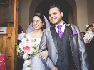 El matrimonio de Jimena y Christopher