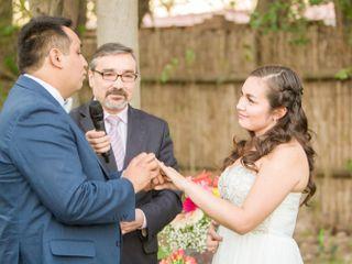 El matrimonio de Valeria y Robinson