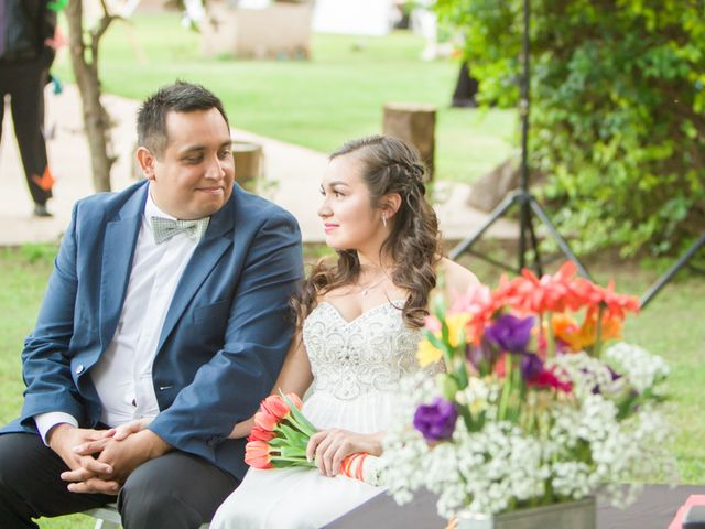 El matrimonio de Robinson y Valeria en Paine, Maipo 40