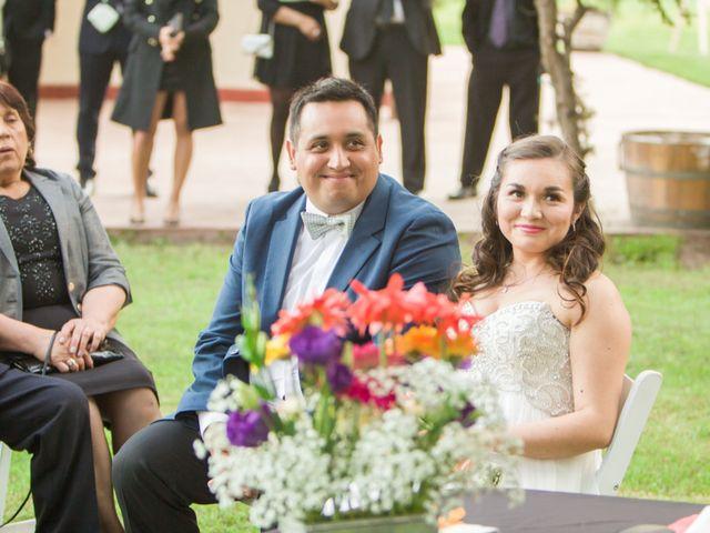 El matrimonio de Robinson y Valeria en Paine, Maipo 1