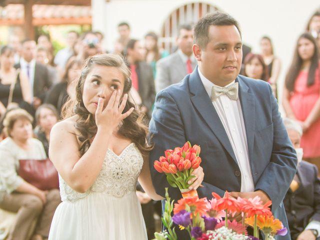 El matrimonio de Robinson y Valeria en Paine, Maipo 45