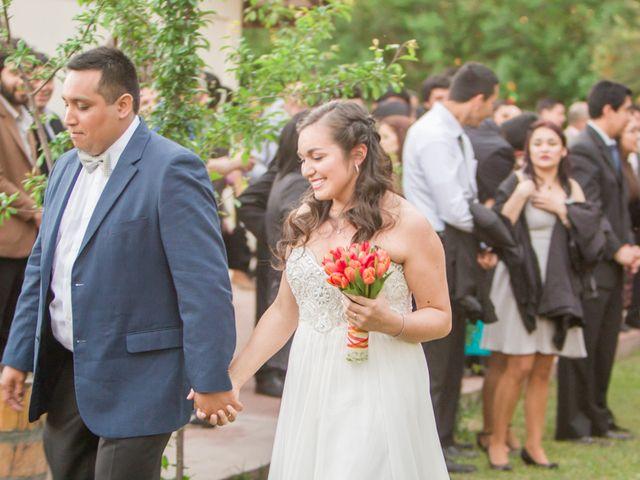 El matrimonio de Robinson y Valeria en Paine, Maipo 53