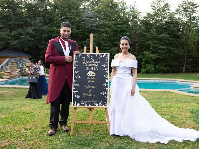 El matrimonio de Christian y Waleska