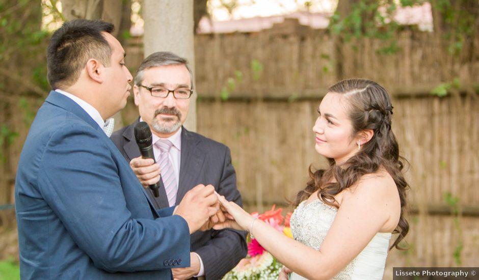 El matrimonio de Robinson y Valeria en Paine, Maipo