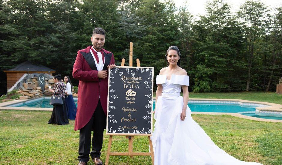 El matrimonio de Waleska  y Christian en Valdivia, Valdivia