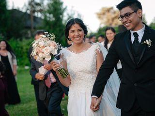 El matrimonio de Denisse  y Mario