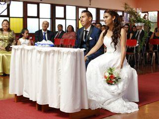 El matrimonio de María José y Fabián