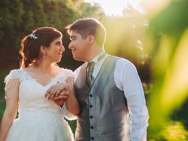 El matrimonio de Gullian y Paz