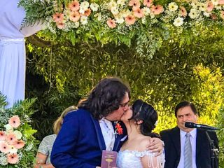 El matrimonio de Valeria  y Daniel