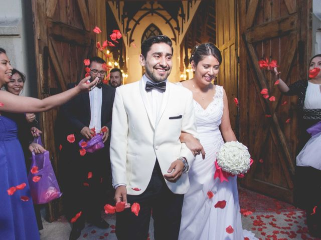El matrimonio de Monse y Leo