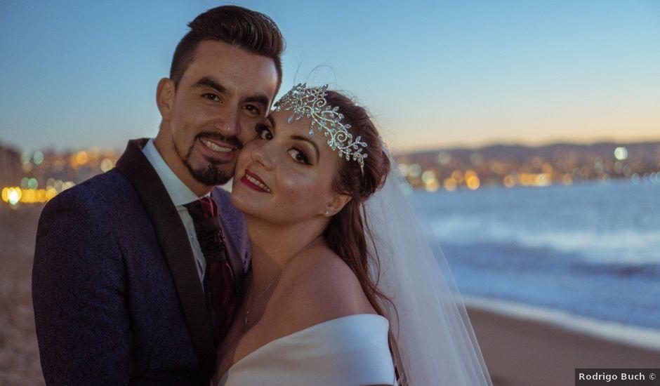 El matrimonio de Alisa y César en Villa Alemana, Valparaíso