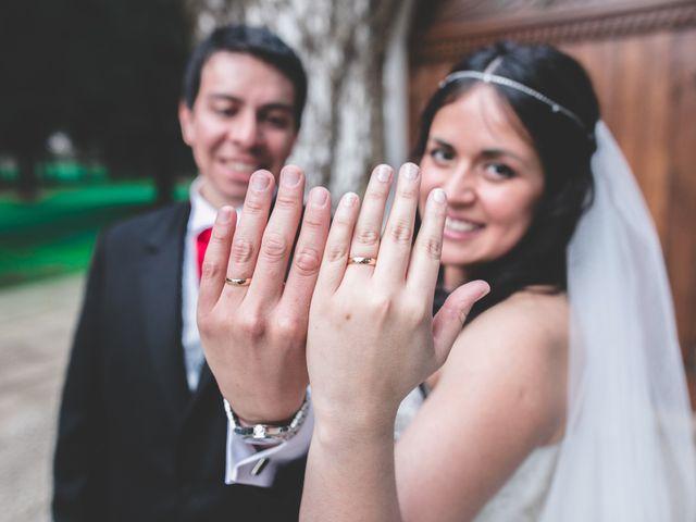 El matrimonio de Karen y Gustavo