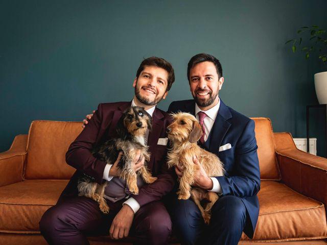 El matrimonio de Enrique y Rodrigo