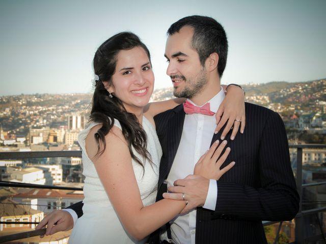 El matrimonio de Paulina y Romain