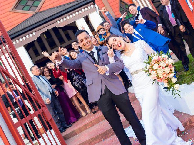 El matrimonio de Gaby y Víctor